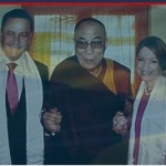 Tony and Michal with the Dalai Lama
