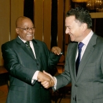 Tony and Jacob Zuma