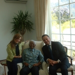 Tony and Michal with Madiba