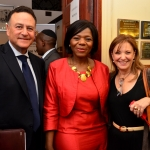 Tony and Michal with Thuli Madonsela
