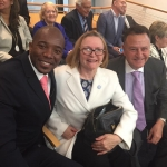 Mmusi Maimane, Helen Zille and Tony Leon