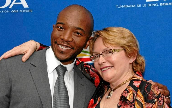 20170325 - Maimane and Zille
