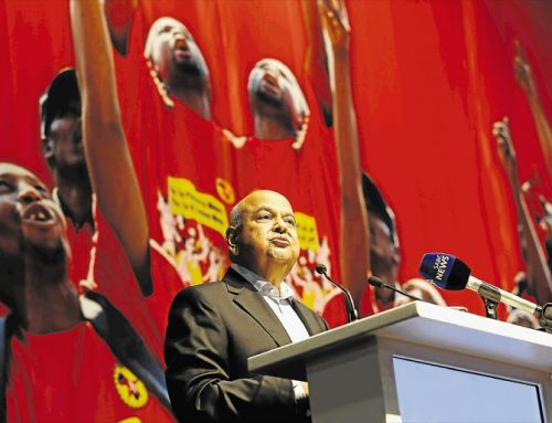 Face facts: Pravin's a commie, Cyril's a union man