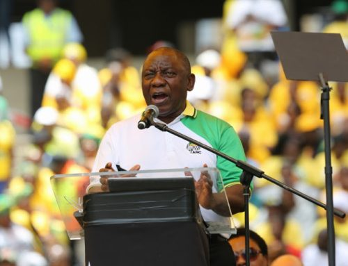 Cyril assumes power – but not over his own party